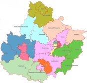 Wahlbereichseinteilung zur Kommunalwahl 2014